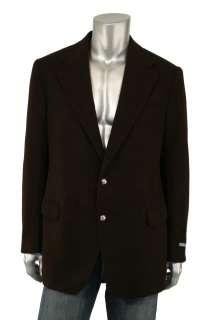 Ralph Lauren Polo Brown Cashmere Blazer Jacket 44 L New $2095