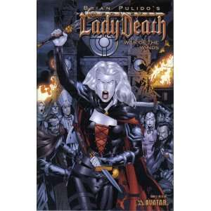 Lady Death War of the Winds No. 3: Brian Pulido:  Books