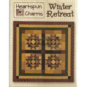 Winter Retreat   quilt pattern Arts, Crafts & Sewing