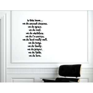 love grace prayer peace love. Wall decal stickers quotes and sayings