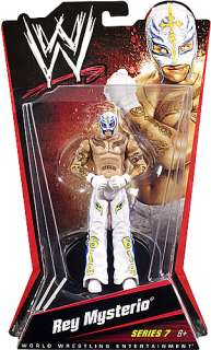 REY MYSTERIO MATTEL WWE SERIES 7 TOY WRESTLING FIGURE