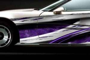 RACE CAR GRAPHICS Vinyl Wrap Decal IMCA Late Model # B