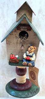 BOYDS BEARS Alvin Birdhouse CHRISTMAS Workshop 654412