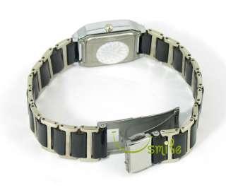 Fashion Womens Ceramic Black Dial JP Quartz Watch H29
