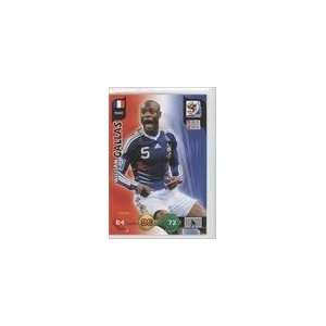 2010 Adrenalyn XL World Cup #88   William Gallas: Sports Collectibles
