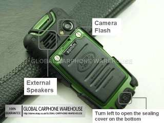 New Quadband LAND ROVER MILITARY Water Dust Proof Defender Mobile CELL