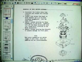 TEAC A 3340S 3340 S Reel To Reel SERVICE MANUAL |