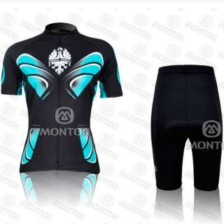 2012 Cycling Bicycle Comfortable outdoor women Jersey + Shorts Size M