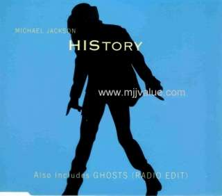 Michael Jackson extremely rare history / ghosts promo SAMPCM 4340