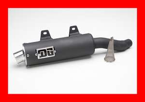 DG RCM2 Slip On Exhaust, Pipe,Yamaha Big Bear 350, 051 4735