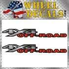 4x4 Off Road Decals Stickers Dodge Ram Big Horn Chrome