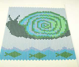 Snail Peyote Stitch Pattern by Dara Ward