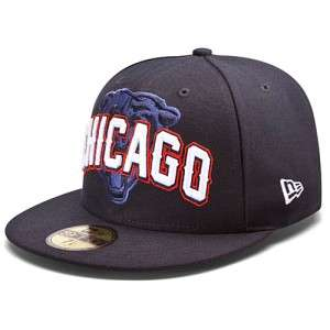 CHICAGO BEARS NFL NEW ERA 59FIFTY DRAFT DAY STRUCTURED FITTED HAT