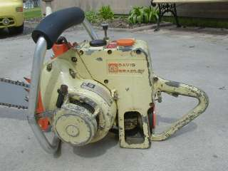 Vintage 1950s Antique David Bradley Chainsaw Gear Driven Three Sixty