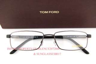 New Tom Ford Eyeglasses Frames 5153 009 GUNMETAL Men