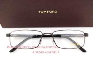 New Tom Ford Eyeglasses Frames 5153 009 GUNMETAL Men