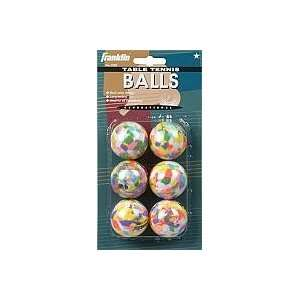 MULTI COLOR TABLE TENNIS BALLS