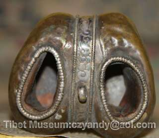 Wonderful Amazing Real Old Antique Tibetan Buddhism Ritual Silvered