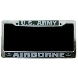 Army Airborne Paratrooper Unit Division Armed Forces Military Black