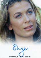 ARCHIVES AUTHENTIC AUTOGRAPH INSERT SONYA WALGER AS PENELOPE WIDMORE