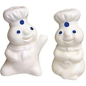 Pillsbury Dough Boy 1997 Salt and Pepper Shaker New in Box