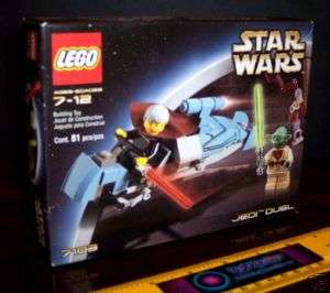 LEGO 7103 STAR WARS YODA COUNT DOOKU JEDI DUEL MISB NEW