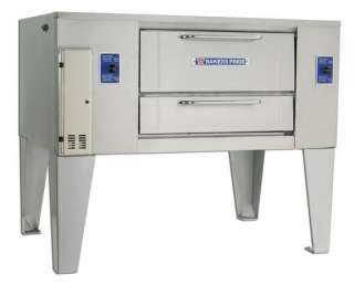NEW Bakers Pride Gas One Deck Pizza Oven, Model D 125, No Reserve