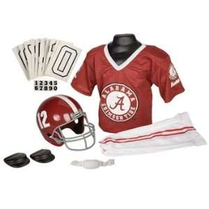 Alabama Crimson Tide Football Deluxe Uniform Set   Size