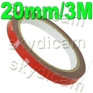 3M Acrylic Foam Double Sided Attachment Tape 8mm/30M