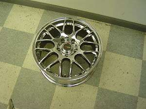 06 Pontiac GTO AFTER MARKET 17 Chrome Double Spoke Wheel LS2 DRAG RIM
