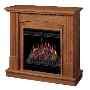 Dimplex CFP3685O Tessa Electric Fireplace, Oak Home & Kitchen