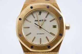 18 K Yellow Gold Audemars Piguet Royal Oak Mens Automatic Watch Pre