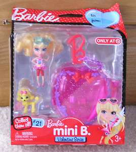 Barbie Peek a Boo Petites Mini B Valentine Series #21