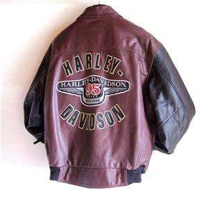 Harley Davidson Leather Jacket 95th Anniversary S, M & L Available
