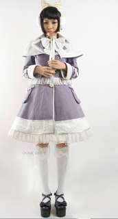 fashion Visual Kei Punk Gothic Lolita Dress KIMONO