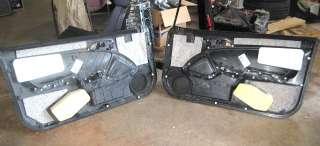 Acura RSX Front Door Panel Pair Black OEM Left Right