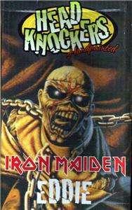IRON MAIDEN Heavy Metal EDDIE Piece of Mind BOBBLEHEAD
