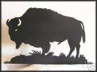 BUFFALO Old West Indian Western Art Silhouettes