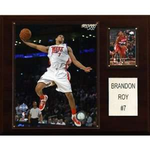 NBA Brandon Roy Portland Trail Blazers Player Plaque