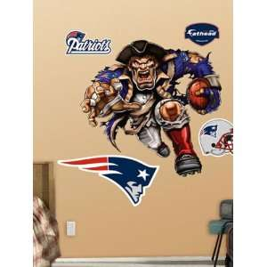 Wallpaper Fathead Fathead NFL Players and Logos New England Patriots