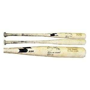 Used Uncracked SSK Ash San Francisco Giants Bat   Autographed MLB Bats