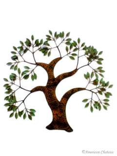 NEW LARGE WROUGHT IRON TREE OF LIFE WALL ART DECOR