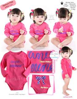 Lovely Ribbon Baby Boy Girl Infant Cotton Clothing /WBA 121~122