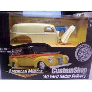 #30289 Ertl American Muscle Custom Shop 40 Ford Sedan