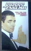 JOHNNY ENGLISH ROWN ATKINSON MR BEAN VHS EXCELLENT