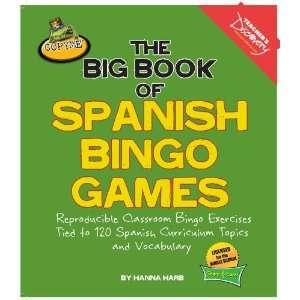 The Big Book of Spanish Bingo Games Teachers Discovery