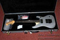 WASHBURN NUNO BETTENCOURT N4 silver metallic N 4 GUITAR