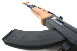 Airsoft Kalashnikov Licensed Full Size AK47 AEG Rifle w/ Full Rear