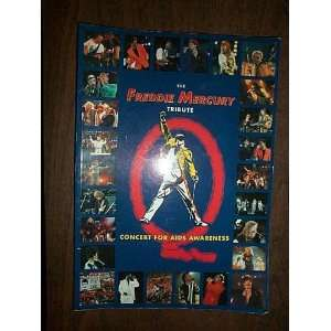 Freddie Mercury Tribute Concert Pb (9780863599798) R Gray Books