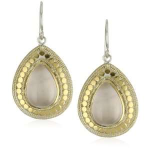 Anna Beck Designs Gili Rose Quartz Teardrop Earrings